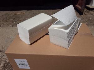 Papirni ubrusi V fold Brisač za ruke