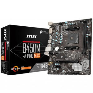 MSI Main Board Desktop B450
