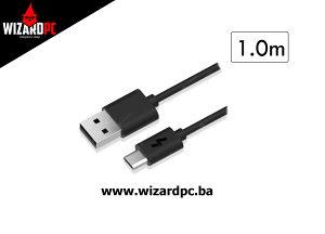 Kabal USB - Mini USB 1.0m HYTECH HY-X50 1.5A (10289)