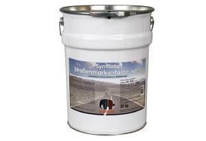 Boja fluorescentna za beton, asfalt, 35kg sa zaštitom