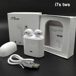 I7S bežične bluetooth slušalice (air pods) BIJELE