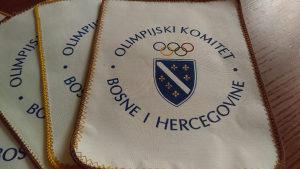 Olimpijski komitet Republika BiH zastavice