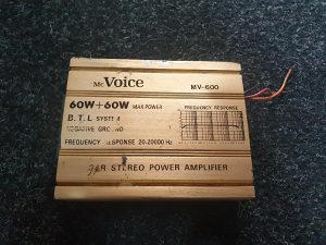 Pojacalo mcVoice MV600 - 120W