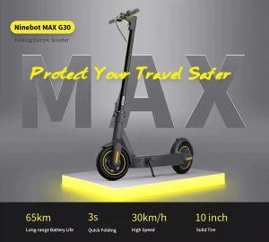 Segway KickScooter MAX G30 Pro romobil skuter trotinet