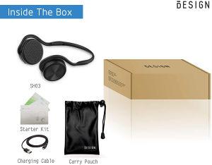 Besign SH03 Bluetooth 4.1 Headphones Up to 25 Hours