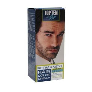 Farba za bradu kosu brkove muskarce tamno smeđa