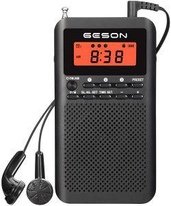 prijenosni radio AM FM digitalni LCD prikaz dvopojasni