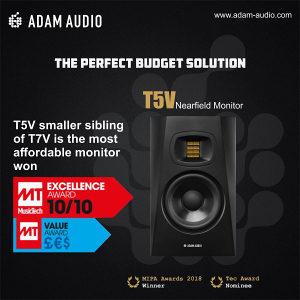 Adam T5 V aktivni monitor studijski