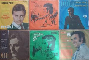 Lot od 14 gramofonskih ploča - Miki Jevremović