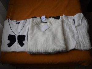 Ženski džemper , košulja i majica