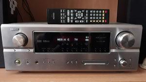 Stereo Hi-Fi, A / V Receiver Denon AVR2105, Kucno kino