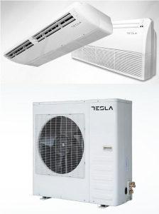 TESLA LCAC podno-stropna 1:1 sistem: 17,58 kW