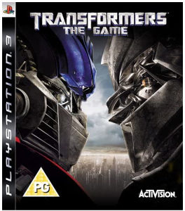 Transformers The Game (PlayStation 3 - PS3)