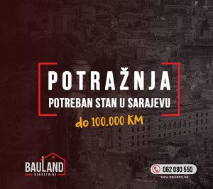 BAULAND POTRAŽUJE /Stan do 100.000 KM