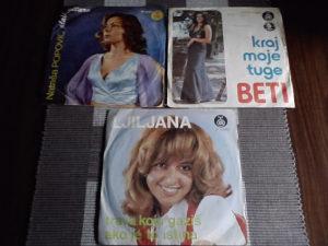 3 singla  - top cijena u kompletu