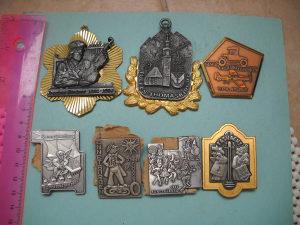 Metalna oznaka i medalje - lot 7 komada